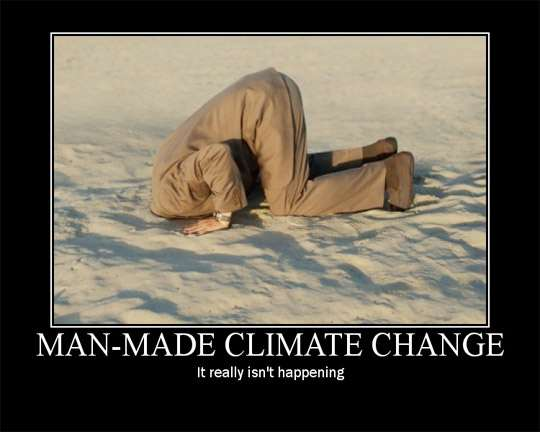 Another Proof: there is no manmade Climate Change